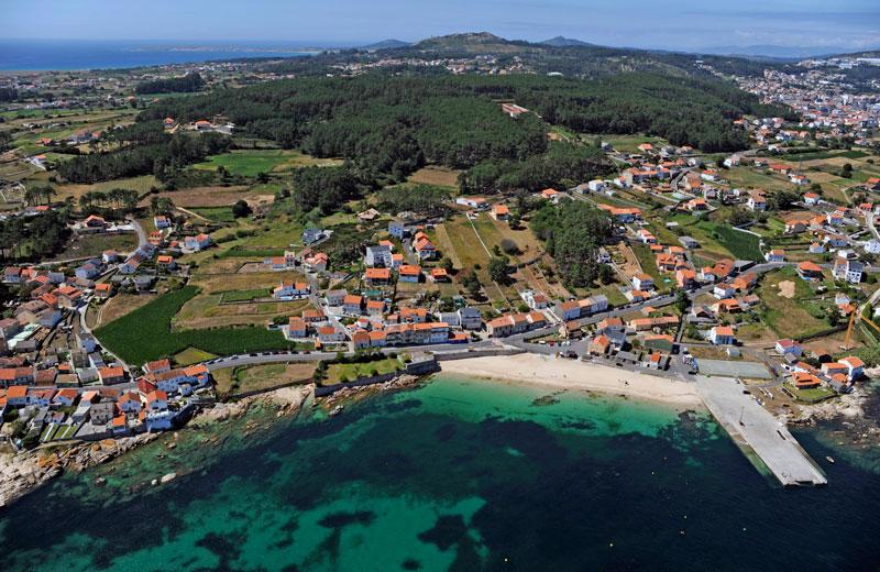 Foto de la playa de A Ameixida