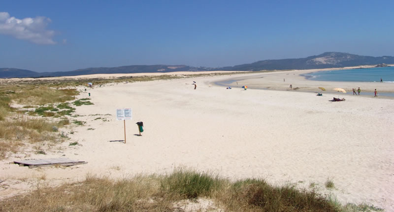 Foto de la playa de Ladeira