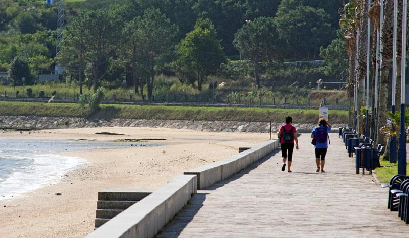 Foto del Paseo Marítimo de O Areal
