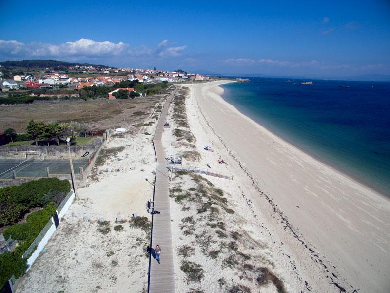 Foto de la playa de A Catía
