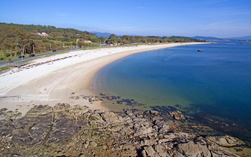 Foto de la playa de A Retorta