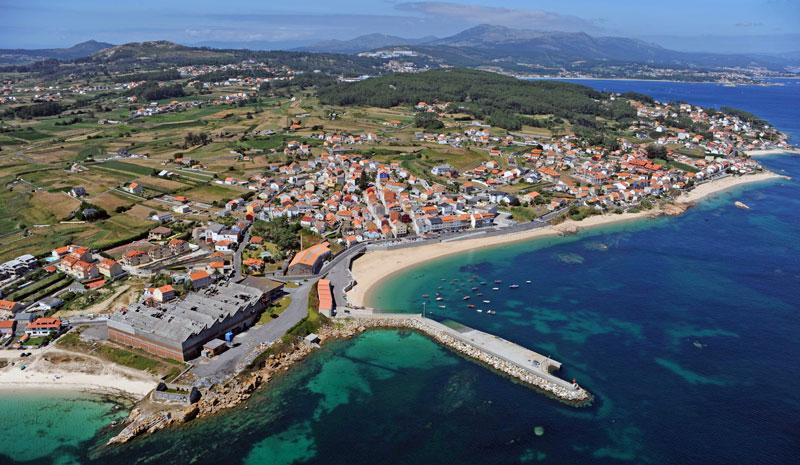 Foto de la playa de Castiñeira