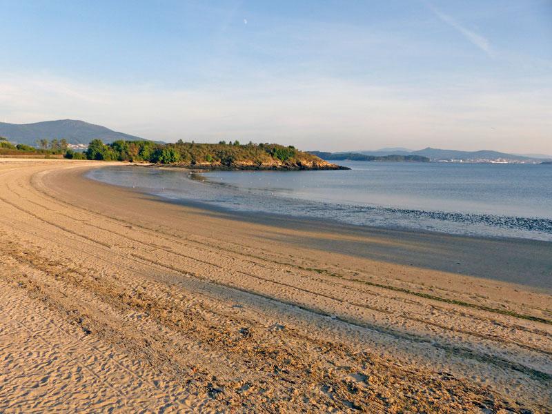 Foto de la playa de O Porrón
