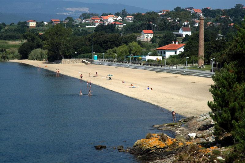 Foto de la playa de A Torre