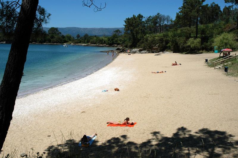 Foto de la playa de As Cunchas