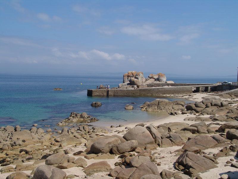 Foto de la playa de O Touro