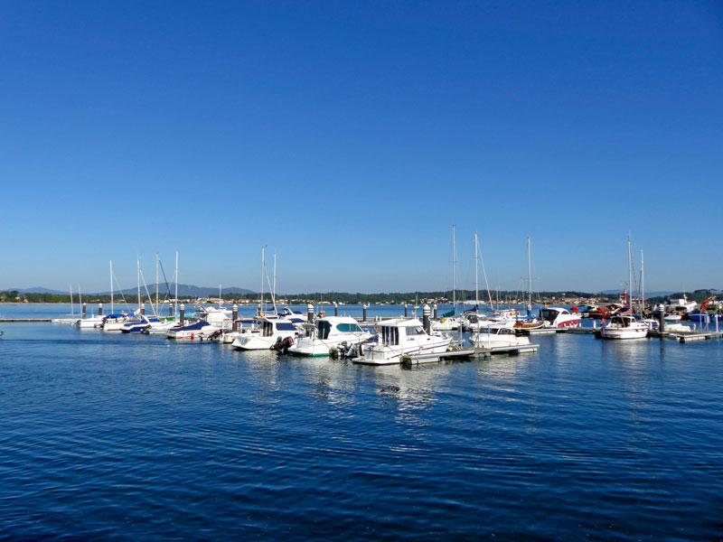 Foto del Puerto de Barraña en Boiro