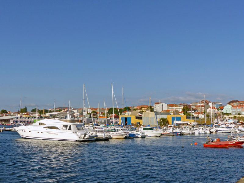Foto del Puerto Deportivo de Rianxo